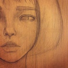 Sketch in progress by Josephine Kahng