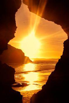 """A New Path Begins""  Praia dos 3 Irmãos, Alvor, Portugal (Algarve)  By André Campos  #sun #ocean #beach"