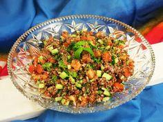 Antipastaa: Tabbouleh-salaatti (munaton, maidoton, gluteeniton, viljaton, sokeriton, paleo, vegaaninen)