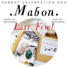 MABON Sabbat Celebration Box Kit Autumn Equinox Witch   Etsy Celebration Box, Mabon, Sabbats, Gothic Home Decor, Gothic House, Equinox, Subscription Boxes, Uk Shop, Daughters