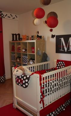 Puppy Theme Baby Nursery