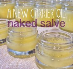 How to make a naked salve for use with essential oils of your choice