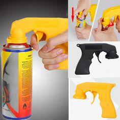 Black/Yellow Car Dip Special Handle Color Spray Painting Gun Rim Membrane Tools