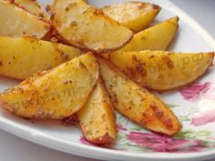 запечённая картошка дольками фото рецепт