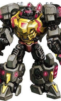 Grimlock looking properly  L