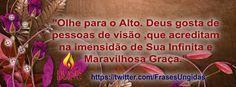 CURTAM, COMPARTILHEM E DIVULGUEM a nossa Página FRASES UNGIDAS: www.facebook.com/... ♥
