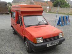 seat terra camper Pickup Camper, Car Camper, Camper Trailers, Campers, Panda Food, Fiat Panda, Truck Camping, Shelters, Food Truck