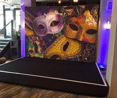 Ideas for a masked Party theme. Use a masked party theme for your next event.