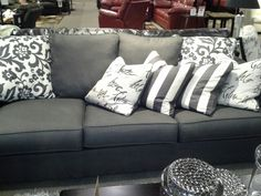 Couch Ashley furniture decorate Pinterest