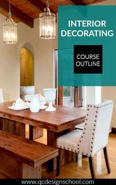 Want to become an interior decorator? You can with QC Design School's online Interior Decorating course! Here's what you'll be studying to get your IDDP (International Decorating & Design Professional) certification.