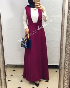 Street Hijab Fashion, Abaya Fashion, Muslim Fashion, Modest Fashion, Fashion Dresses, Hijab Outfit, Hijab Dress, Dress Outfits, Hijabi Gowns