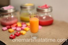 Use up some of the kids' Halloween candy with this Starburst Infused Vodka.
