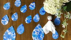 Paper Crafts For Kids, Fall Crafts, Rain, Children, Creative, Autumn Crafts, Rain Fall, Young Children, Boys
