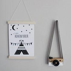 poster little adventurer - Hip Huisje