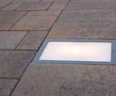 """The 6x9"""" Nox Lighting LED Paver Light is designed to be installed flush into paver patios, driveways, and walkways. These lights are intended specifically for outdoor use, the 5.5 Watt LED lamp is IP6"""