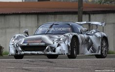 In April, we brought you spy shots of a new road car being developed by Italian race car constructor Dallara.