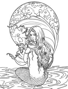 http://www.amazon.com/Mermaids-Coloring-Collection-Fantasy-Selina/dp/0994355408/ref=la_B00553MQPE_1_2?s=books  Davlin Publishing #adultcoloring
