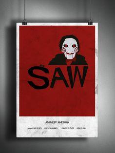 Case: Design av poster for a horrormovie inspired by Saul Bass.