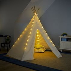 That backyard camping experience can now come indoors for your kids.