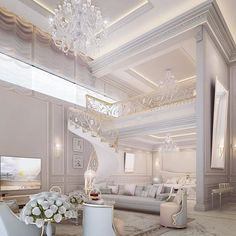 Master bedroom suite design by IONS DESIGN - Saudi Arabia