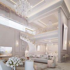 Master bedroom suite design by IONS DESIGN - Saudi Arabia