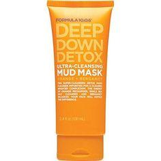 Formula 10.0.6 Deep Down Detox Ultra Cleansing Mud Mask #vivifaves