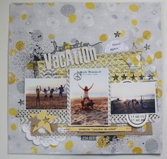 page-scrap ✄ {Destination vacation} avec I {LOWE} SCRAP n°4