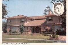 Danny Thomas's home, Beverly Hills, California. SO disappointing!  This house is average! Where the mansion?!!!!