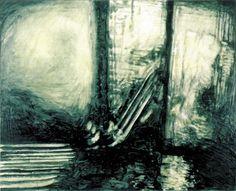 La Grande Attesa 1989 oil on canvas  cm. 130x160