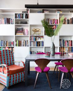 A whimsical, playful, travel-inspired home by our NYC designer Marc Houston.
