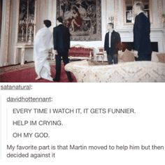 I LOVE HOW MARTIN AND MARK BOTH PUT THEIR HANDS ON THEIR KNEES AND THE SAME TIME