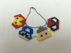 Hama beads tsum tsum avengers keychain