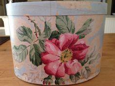 Vintage Hannah's Treasure hat box / band box by WesternReserve, $36.00 SOLD