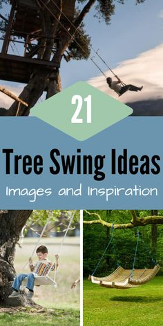 Here we've compiled 21 of the most unique and eye-catching tree swing ideas we could find to make your tree-filled backyard exciting! Backyard Plan, Backyard Games, Backyard Landscaping, Backyard Parties, Backyard Ideas, Backyard Trampoline, Backyard Playground, Outdoor Play Areas, Outdoor Fun