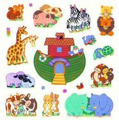 Faith That Sticks stickers - Noah's Ark