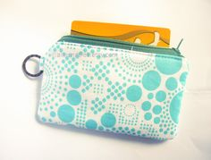 handmade Teal women wallet, coin pure, cardholder https://www.etsy.com/sg-en/shop/AlmondTree #purse, #handmade, #etsy, #cardholder, #womenswallet
