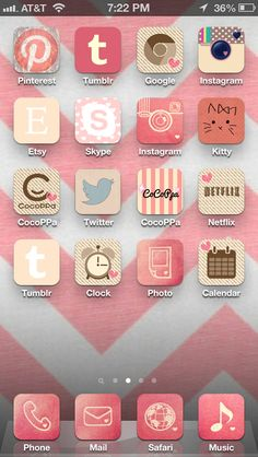 Cute girly iPhone apps when i get my iPhone 5(: