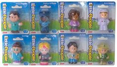 Fisher-Price Little People Gift Set of 8 - Teacher, Dentist, Police Officer, Artist, Park Ranger, Veterinarian, Hair Stylist & Astronaut Little People http://www.amazon.com/dp/B012JD3CIW/ref=cm_sw_r_pi_dp_BwnTvb1MYKMM0