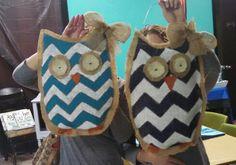 Owl Burlap Door Hangers, Owl, Children, Young Children, Boys, Owls, Kids, Child, Kids Part