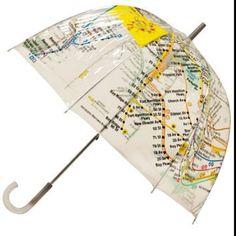 Map umbrella!