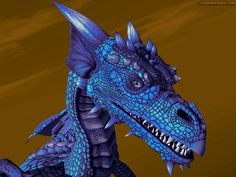 Free 3D Wallpaper 'Ice Dragon' 1024x768