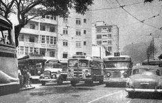 Bar 20 - 1959 Na foto, vemos a Av. Visconde de Pirajá com a Henrique Dumont.