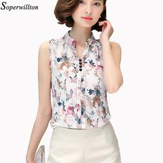 Soperwillton 2016 New Summer Women Tops Casual Sleeveless V-Neck Fashion Women Blouse Chiffon Print Blouses Big Size S-XL D02     Tag a friend who would love this!     FREE Shipping Worldwide     Buy one here---> http://www.pujafashion.com/soperwillton-2016-new-summer-women-tops-casual-sleeveless-v-neck-fashion-women-blouse-chiffon-print-blouses-big-size-s-xl-d02/