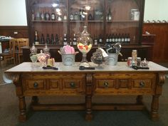 Lolly table