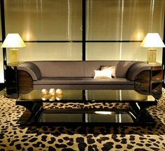 Armani casa - art deco sofa