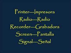 CLASES DE INGLES BASICO #62. VOCABULARIO EN INGLES - MEDIOS DE COMUNICACION