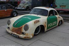 356 Rat Pollice car Porsche