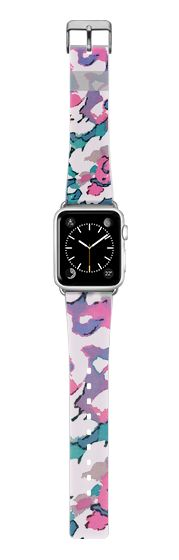 Casetify Apple Watch Band (38mm) {{case}} - FANCY FLORALS - APPLE WATCH BAND by Nika Martinez #Casetify