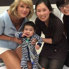 Taylor visited patients at Lady Cilento Children's Hospital earlier today in Queensland!