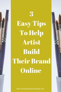 Sell art online for free httpartpromotivate201211how 3 easy tips to help artists build their brand online publicscrutiny Image collections